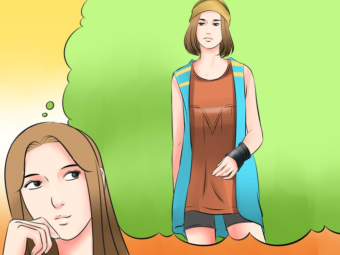 Magnificent How To Dress Like A Hippie At School Hairstyles For Women Draintrainus